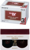 Sony High Definition Mini DV Tapes 63mins