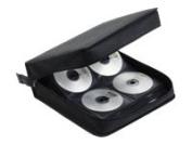 Ednet 208 Wallet for DVD/CD