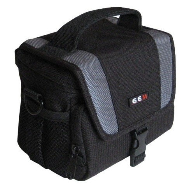 GEM Case for Panasonic SDR-H80, SDR-H81, SDR-H90, SDR-H100, SDR-S45, SDR-S70, SDR-T70, SD HDD Camcorder plus a Compact Camera / Accessories