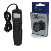 Ex-Pro MC-DC2 Timer Remote Shutter Release Cable Switch with LCD Display for Nikon D90/D600/D3100/D3200/D5000/D5100/D7000/D7100