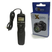 Ex-Pro CS-205 Timer Remote Shutter Release cable switch with LCD Display for Pentax Cameras [See Description for Models]