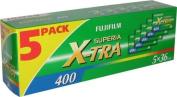 Fujifilm - Superia X-TRA 400 5x36EXP. 5 PACK