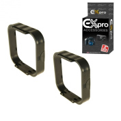 Ex-Pro Square filter s lens hood for Cokin P-Series holder P255 [2 Pack]