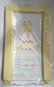 SUPER SOFT PADDED WATERPROOF BABY CHANGING MAT - PATCH the GIRAFFE (v2) - UNISEX
