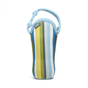 Built NY One Bottle Tote Baby Blue Stripe