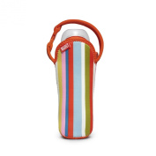 Built NY One Bottle Tote Baby Pink Stripe