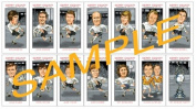 DERBY COUNTY 1972 LEAGUE CHAMPIONS CARD SET
