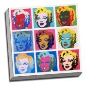 Marilyn Monroe Warhol Pop-Art Print Framed Picture 50cm x 50cm