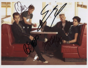 The Vamps (Band) FULLY SIGNED Photo 1st Generation PRINT Ltd 150 + Certificate