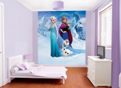 Walltastic 2.4m x 1.8m Paper Disney Frozen Wall Mural, Multi-Colour