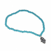 Atdoshop(TM) Boho Beads Hamsa Fatima Anklets