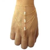 Elegant Harness Finger Bracelet Hand Chain
