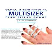 OLIVIA International Multi Sizer 3-In-1 Ring Sizer Gauge