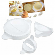 Home Made Kitchen Craft Pastry Moulds, Set of 3 - BIG ! Diam