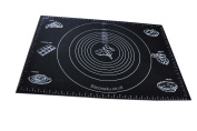 Extra Large Silicone Rolling Mat for Pastry, Fondant, Dough etc