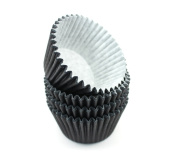48 Black High Quality Cupcake Muffin Cases