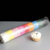 Mixed Colour Market High Quality Mini Muffin or Mini Cupcake Cases
