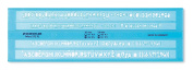Staedtler Mars 572 FL Writing Stencil 3.5 mm and 5 mm Transparent Blue