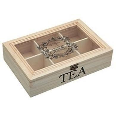 Kitchen Craft Le'Xpress Wooden Tea Chest