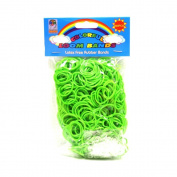 Loom Bandz - Rainbow Colours - Green 600 Count