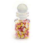MyTinyWorld Miniature Handmade Marshmallow Twists In A Glass Jar