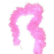 Cerise Pink Soft Marabout Feather Boa Trim