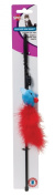 Ethical Pet Feather BOA Toy with Wand and Catnip