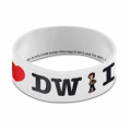 Doctor Who I Heart The Doctor Wristband