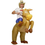 Artis Inflatable Horse and Cowboy Fancy Costume Dress Suit