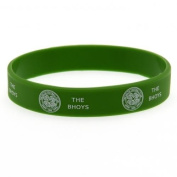 Official GLASGOW CELTIC FC green rubber wristband