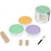 Colorfin PanPastel Pearlescent Secondary Artist Pastels Set, 9ml, Green, Orange and Violet