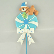 Migajon Baby Shower Decor, 36cm , Lollipop with Bear
