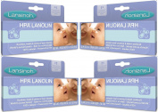 Lansinoh HPA Lanolin for Breastfeeding Mothers, 40 Grammes X 4