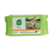 Seventh Generation Thick n' Strong Free & Clear Baby Wipes with Flip Top Dispenser 64 ea