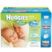 Baby Wipes MEGA PACK Brand New by HUGGIES NATURAL CARE 1160 Total Individual WIPES Special Assortment includes a Stripped Clutch Travel Case with Handle and Flip Top Lid and a Blue White & Green Decorated Plastic Case with Flip Open Lid that holds over ..