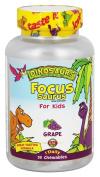 Kal - Focus-Saurus For Kids Grape - 30 Chewables