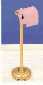 60cm H BRASS TOILET TISSUE STAND