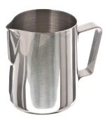 Update International EP-20 Stainless Steel Frothing Pitcher, 590ml, Set of 6