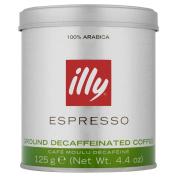 Illy Espresso Ground Coffee Decaffeinated