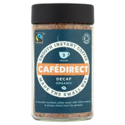 Cafédirect Fairtrade Organic Decaffeinated Instant Coffee