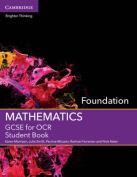 GCSE Mathematics for OCR Foundation Student Book