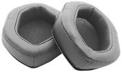 V-MODA XL-GREY Memory Cushions for Over-Ear Headphones, Grey