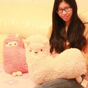 Crazy Genie Llama Alpaca Hug Plush Pillow Cushion Soft Toy Doll Furnishing Gift