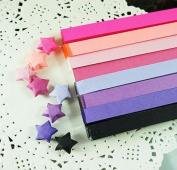 Origami Stars Papers Package - Purple - 640 Sheets