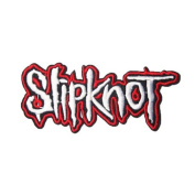 11cm x 4.6cm Slipknot Embroidered iron on patch metal punk hip hop band logo for t shirt hat jacket