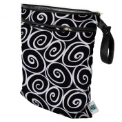 Planet Wise Wet/Dry Nappy Bag, Midnight Curl