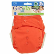 GroVia Cloth Nappy Cover - Snap - Persimmon - One Size