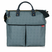 Skip Hop Duo Nappy Bag, Blue Pinpoint [Special Edition]