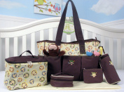 SOHO Curious Monkey 6 in 1 Deluxe Nappy Bag.
