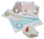 Sugarbooger Nappy Bag Organiser Pouches, Cotton
